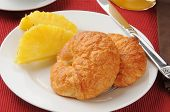 Croissants And Pineapple