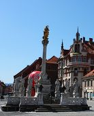 Maribor Main Square - Plague Monument