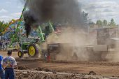 John Deere 6030 Tractor End Of Pull