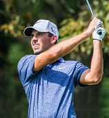 Charl Schwartzel At The 2012 Barclays