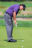 Phil Michelson At The 2012 Barclays