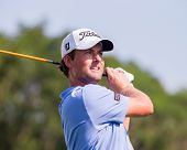 Webb Simpson At The 2012 Barclays
