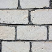 picture of cinder block  - Full Frame Cinder Block Brick Wall with Rough Texture - JPG
