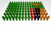 Zambia Flag Parade