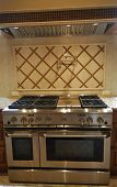 Duel Fuel Oven And Stove Top