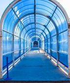 Tunnel Structure, Steel And Glass