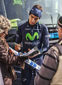 The Cyclist Herada Signing Autograph To Fans