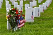 Arlington National Cemetery tijdens Memorial day - Washington DC, Verenigde Staten