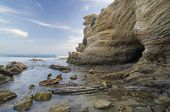 Sea Cave and Shallow Water