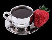 Black Coffee And Strawberry