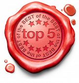 top 5 charts list pop poll result and award winners chart ranking music hits best top quality rating