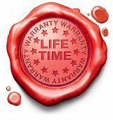 life time warranty top quality product assurance and replacement best top quality guarantee guarante