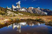 Monte Fitz Roy, Parque Nacional Los Glaciares, Patagónia, Argentina