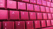 Keyboard Pink