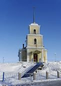 Orthodox Church In The North Of Russia