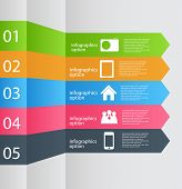 foto of isometric  - Infographic template business vector illustration - JPG