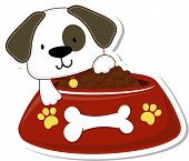 cute puppy food
