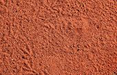 Texture of the typical red sand desert in Central Australia