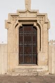 Medieval Gothic Style Front Door In Szekesfehervar, Hungary