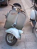 Old Italian Scooter Vespa