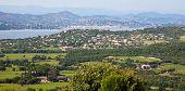 C�?�´te d'Azur landscape near Saint Tropez