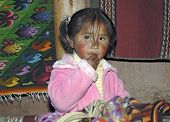 Indian Andean Girl