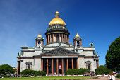 St. Isaak cathedral church in Saint-petersburg, Russia