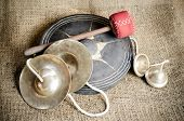 Set Of Thai Cymbal