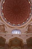 Inside Putra Mosque Main Dome