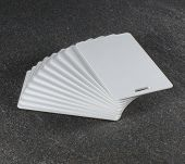 RFID White Cards On Countertop