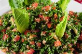 stock photo of tabouleh  - Cold salad appetizer from the middle east - JPG