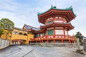 Benten Hall Temple at Ueno Park in Tokyo