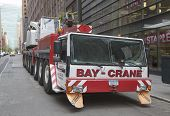 Bay Crane in New York