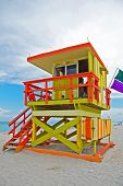 Art Deco Lifeguard Tower