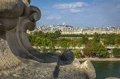 Sacre Coeur Basilica View From Orsay Museum