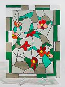 Stained glass - small flowers