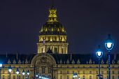 Les Invalides At Night