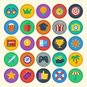 Vector Flat Icons Set