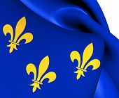 Flag Of Isle De France