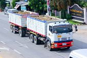 Trailer dump truck of Payawan company