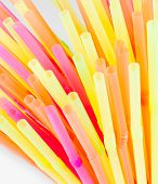 Drinking Colorful Straws