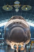 Chantilly-usa,va - September, 26: The Space Shuttle Discovery On Display At The Smithsonian Air And
