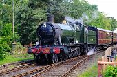 Great Western Steam Train, Hampton Loade.