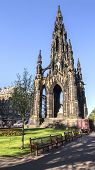 Scotland, Edinburgh Scott Monument