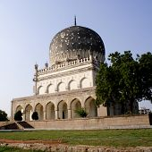 Qutb Shahi Tombs In Hyderabad, India