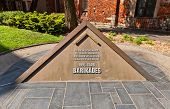 The Barricades Memorial In Riga, Latvia