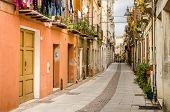 Cagliari, via san Giovanni street