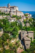 Gordes Medieval Village In Southern France (provence)