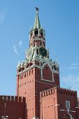 Moscow Kremlin, Red Square. Spasskaya Clock Tower