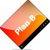 Plan B On Media Player Interface